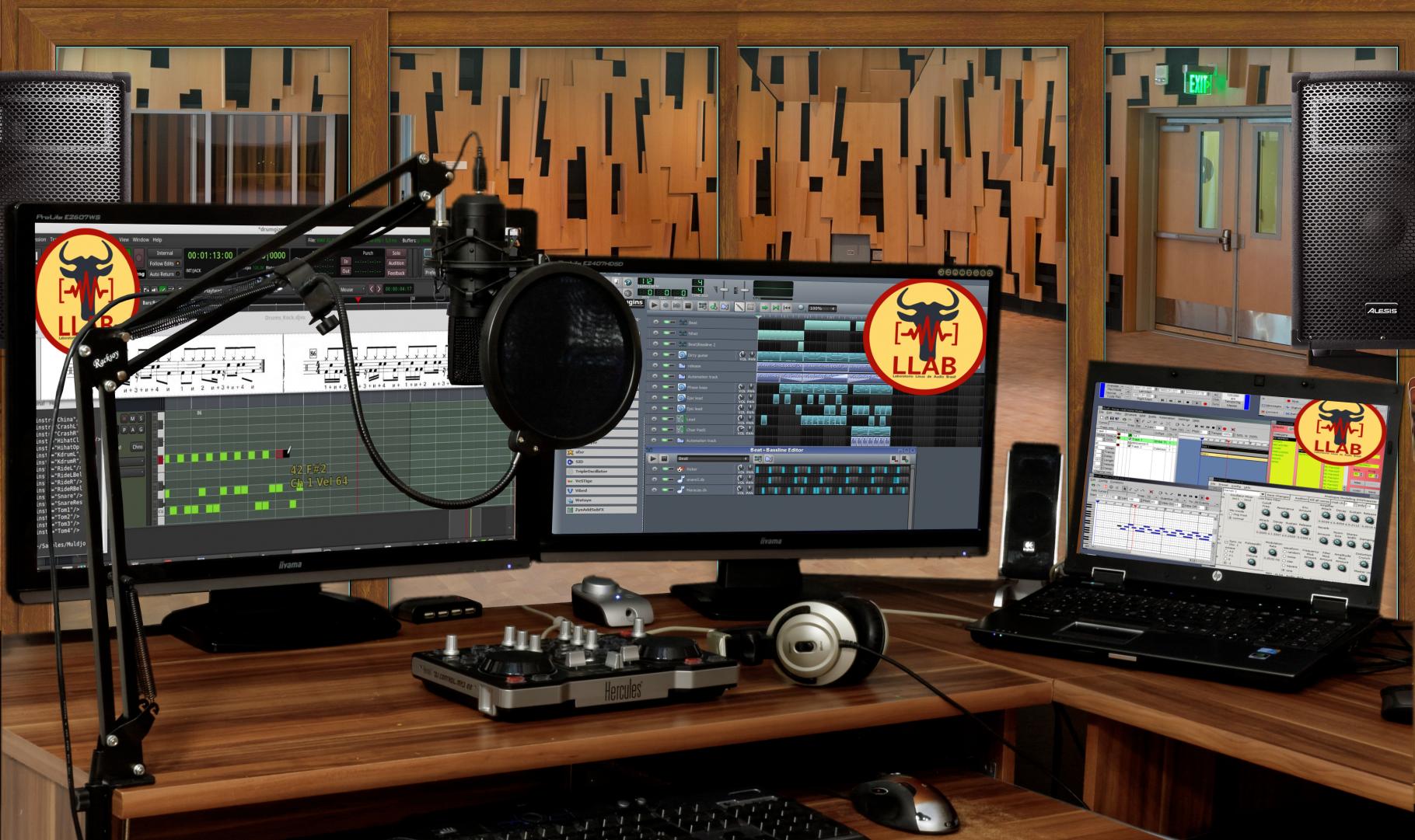 LLAB - Laboratório Linux de Áudio Brasil